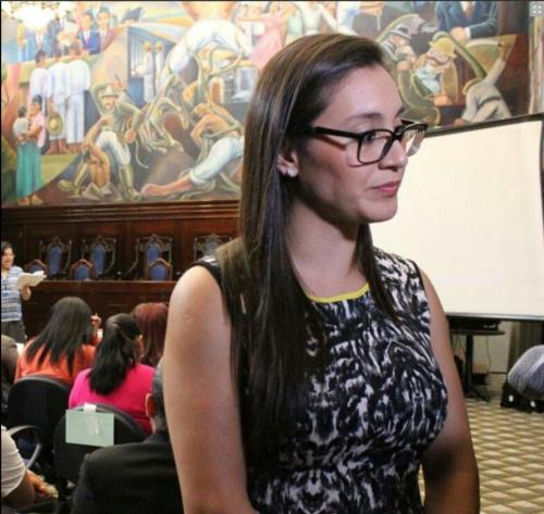 Karina Paz reemplazará a César Fajardo. (Foto: Congreso)
