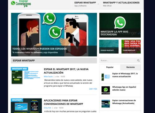 En Google se pueden encontrar varias opciones para espiar Whatsapp. (Foto: Google)