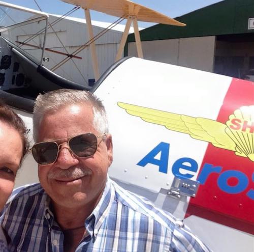 Melquíades Aparicio Bone es un piloto experimentado y reconocido en el gremio. (Foto: Facebook)