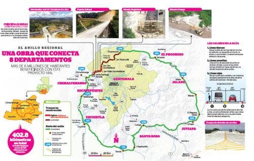 Mapa del proyecto. (Foto: Anillo Regional)