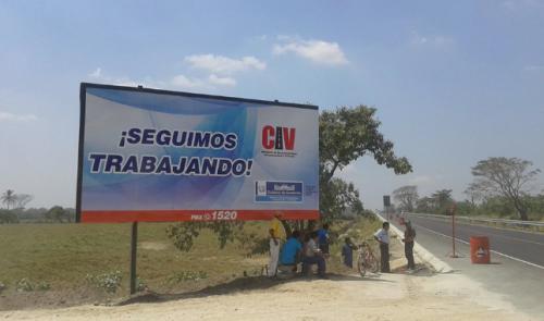 Imagen de 2015 publicada por el ministerio de Comunicaciones de Víctor Conrado. (Foto: Facebook)