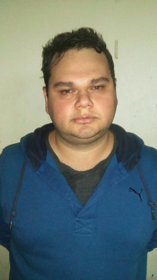 Abner David Reyes Álvarez tiene 29 años, es hijo de un pastor evangélico y ahora está acusado de secuestro. (Foto: PNC)