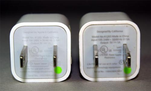 Los cargadores genéricos pueden dañar la vida útil de la batería. (Foto iphoneros.com)