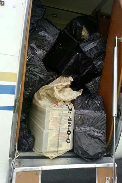 Los guatemaltecos llevaban media tonelada de cocaína y podrían purgar una pena de hasta 20 años de carcel. (Foto: Diego Bosque/La Nación de Costa Rica)