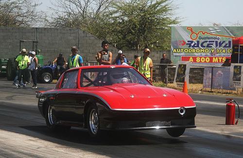 Este es el vehículo de Carlos Alejos. (Foto: César Pérez)