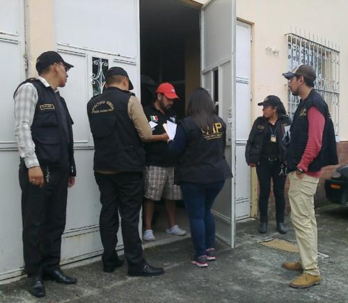 El fiscal Orlando López fue notificado de la orden de captura. (Foto: Cortesía)