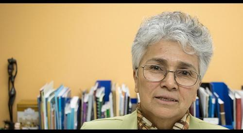 La guatemalteca fue la primera mujer en presidir el Congreso de la República.  (Foto: Plaza Pública)