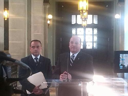 """Varios factores están haciendo """"tambalear"""" al ministerio, explicó este martes el ministro de Desarrollo Social, José Moreno."""