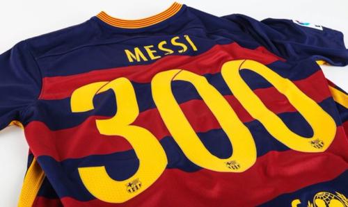 Cifra histórica a la cual llegó Messi en la Liga española.