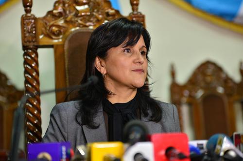 Diputados al Congreso de la República eligieron a María de los Ángeles Araujo como Magistrada Suplente para la Corte de Constitucionalidad con 144 votos a favor. (Foto: Archivo/Soy502)