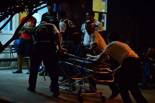 Cuatro personas heridas y tres fallecidas es el saldo del ataque realizado por El Pantera. (Foto Wilder López/Soy502)