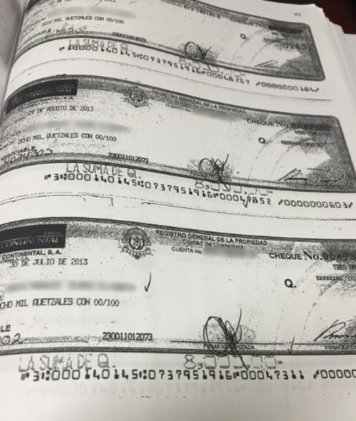 El Registro de la Propiedad pagó por medio de cheques a varias personas que se investigan porque no se presentaban a laborar.