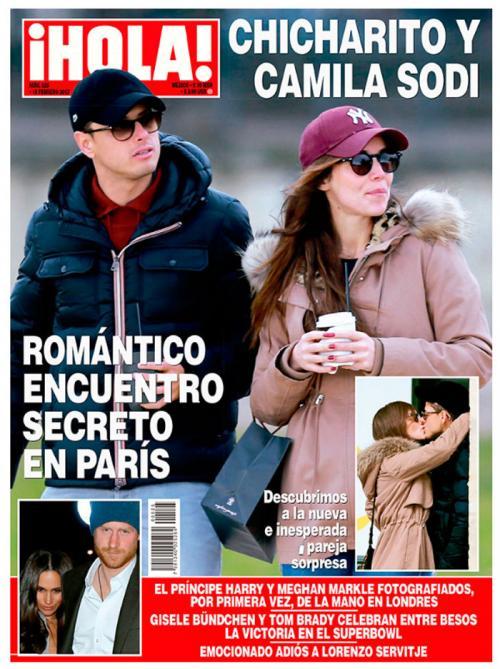 Camila afirmó que terminó su relación con el Chicharito por culpa de los medios de comunicación. (Foto: Hola.com)