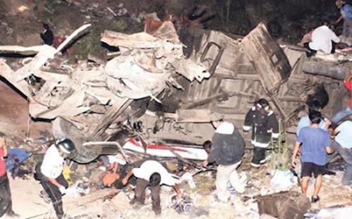 El accidente dejó como consecuencia a muchas familias de luto y a otras personas con recuerdos que quisieran olvidar de esa tragedia.