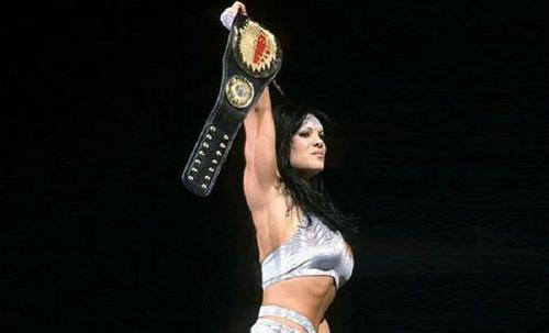 Chyna, durante sus años como luchadora de la WWE. (Foto: Mail On Line)