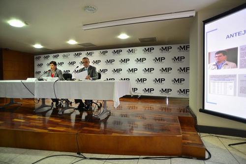 La CICIG y el MP dieron detalles de la solicitud de antejuicios contra diputados y un alcalde. (Foto: Wilder López/Soy502)