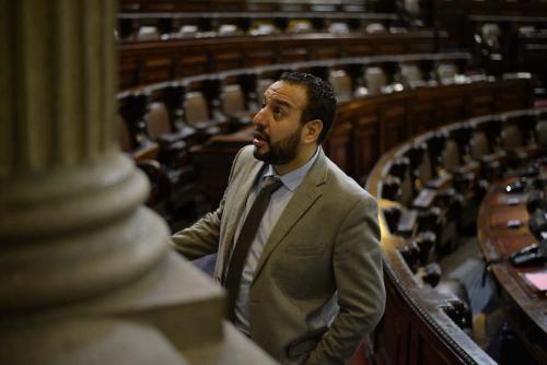 El diputado Jaime Regalado, quien firmó la petición de amnistía para diputados. (Foto: Wilder López/Soy502)