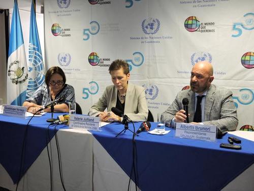 Los representantes de ONU resaltaron que el río La Pasión es la tercera fuente hídrica en importancia ecológica del norte del país. (Foto OACNUDH)