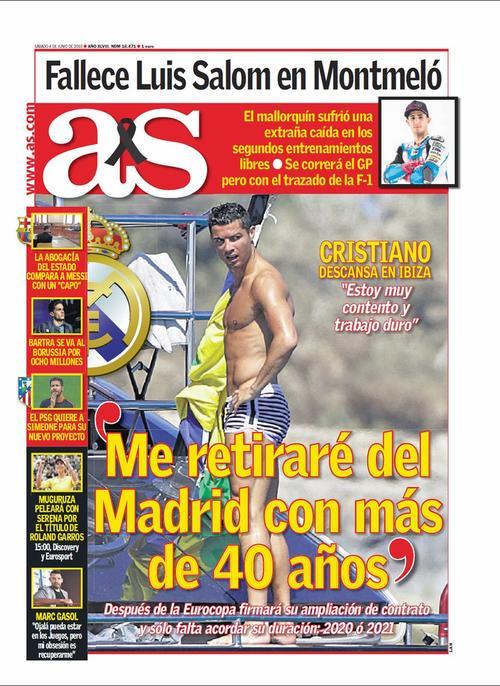En medio de sus vacaciones declaró esto sobre su continuidad con Real Madrid.