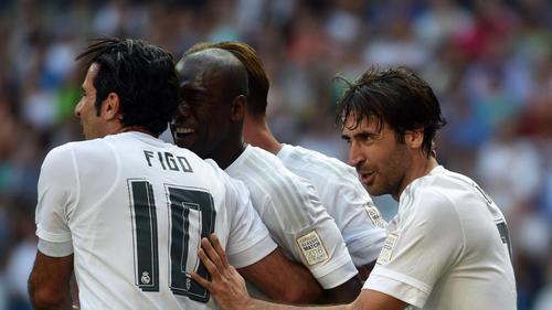 Se volvieron a ver las caras viejas figuras del Real Madrid. (Foto: Twitter)