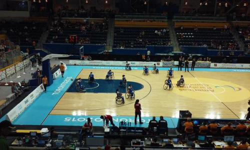 El equipo guatemalteco de baloncesto sobre silla de ruedas terminó en séptimo puesto al derrotar a El Salvador 44-38. (Foto: COG)