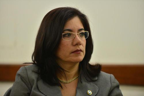 La ex magistrada Claudia Escobar denunció presiones por parte de operadores del Partido Patriota. (Foto: Archivo/Soy502)