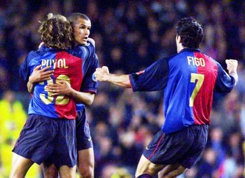 Los años que compartieron en Barcelona.