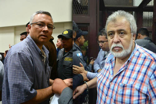 Salvador González y Javier Ortiz fueron dos de los beneficiados con medidas sustitutivas.