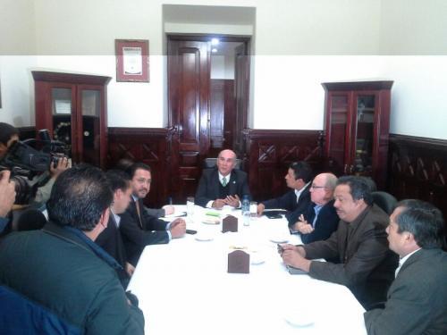 La comisión estuvo integrada por diputados de todas la bancadas del Congreso.  (Foto: Bloque UNE)
