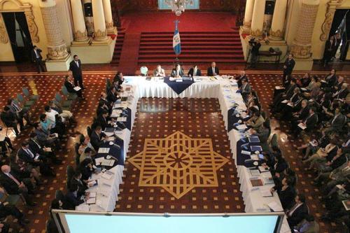 El consejo se llevó a cabo en el Palacio Nacional de la Cultura. (Foto: SESAN)