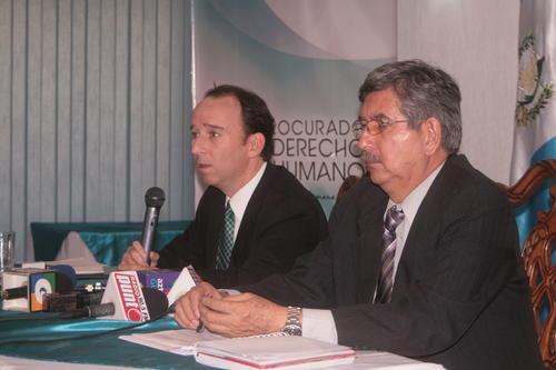 Jorge de León, procurador de los derechos humanos se pronunció sobre el caso y ofreció mediar en el conflicto