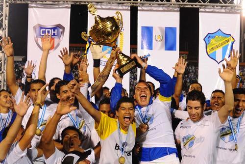 Comunicaciones suma 26 títulos de liga y es el actual bicampeón de Liga Mayor del fútbol nacional. (Foto: Diego Galeano/Nuestro Diario)
