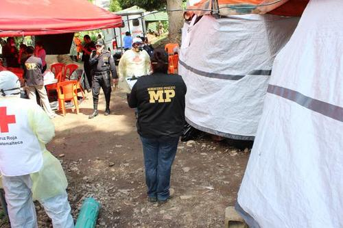 El MP también ha contribuido en el proceso de identificación de las víctimas de El Cambray II. (Foto MP)