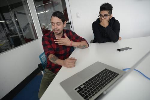Desde hace un año, Diego y Daniel trabajan juntos para hacer un buen papel en Cannes. (Foto: Wilder López/Soy502)