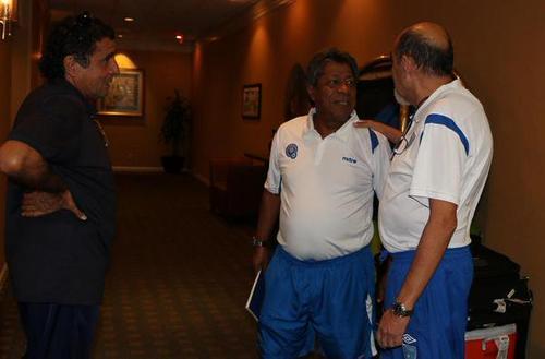 """El """"Primi"""" Maradiaga estuvo al frente de dos eliminatorias, rumbo a Alemania 2006 y Sudáfrica 2010."""