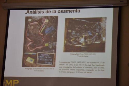 Muestra de una de las fotografías presentadas por el MP en la audiencia donde se ligó a proceso a otros implicados en el caso Creompaz. (Foto: Archivo/Soy502)
