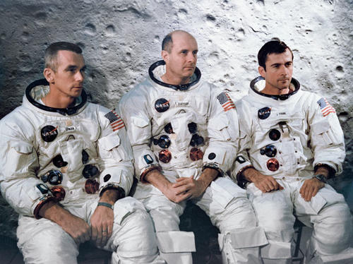 Tripulación del Apollo 10. (Foto: NASA)