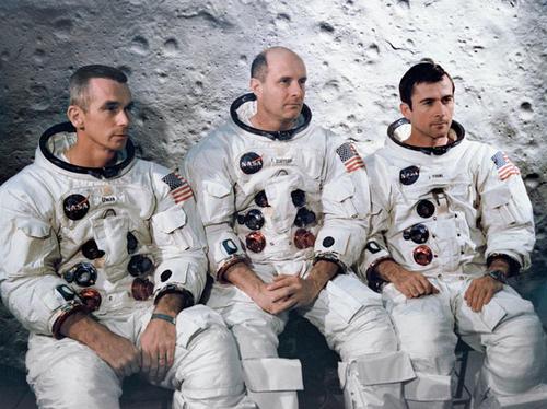 Tripulación del Apollo 10. (Foto: NASA)