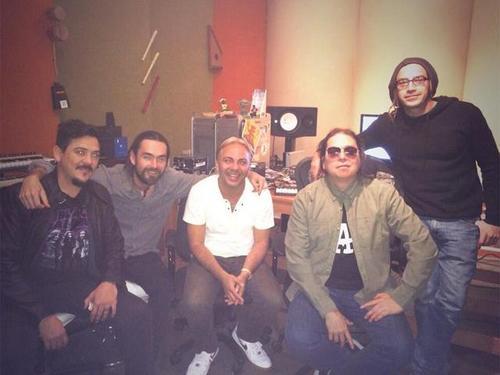 Cristian trabajó hace unos días una colaboración junto a la banda mexicana Genitallica, en la ciudad de Monterrey. (Foto: Twitter/Cristian Castro)