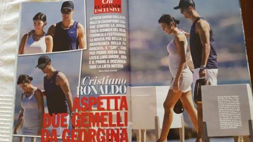 Reporte de la revista Chi, que sitúa a Cristina y su novia en Córcega. (Foto: ABC)