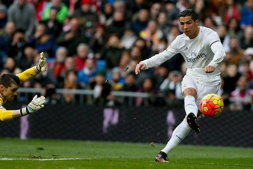 Cristiano Ronaldo suma 16 goles en la Liga española, es uno de los goleadores. (Foto: EFE)