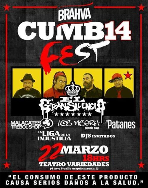 Cumbia Fest 2014 (Foto: facebook Cumbia Fest 2014 oficial)