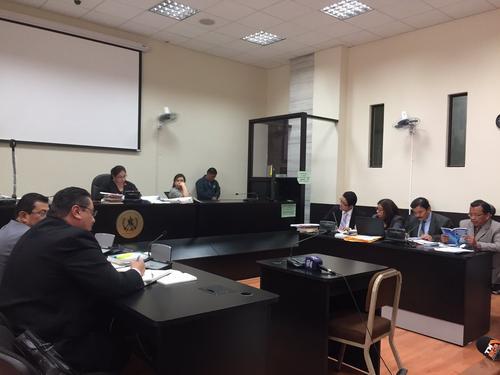 La jueza Claudette Domínguez reprogramó la audiencia para el 16 de noviembre. (Foto: Evelyn de León/Soy502)