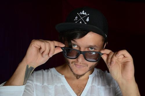 """""""Mashimon"""" es su otro proyecto musical, donde fusiona ritmos electrónicos con mayas. (Foto: Selene Mejía/Soy502)"""