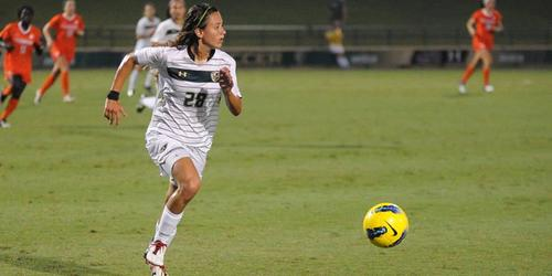 Daniela Andrade fue parte del equipo de futbol femenino de la Universidad del Sur de la Florida.