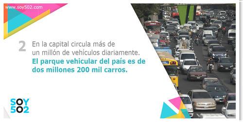 La cantidad de vehículos se ha multiplicado en cuestión de nueve años, por lo que la Municipalidad de Guatemala propone nuevos métodos de movilización como la bicicletas.