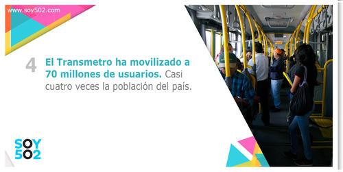 El Transmetro ha contribuido a una mejor movilización masiva en varias zonas de la capital.