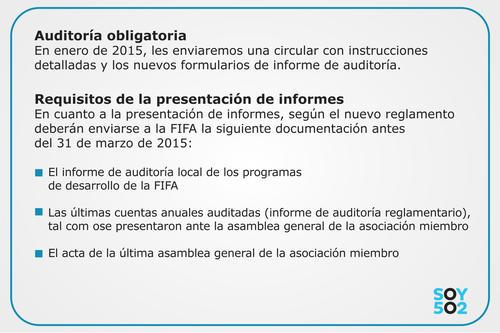 Estos son los requisitos que debía cumplir la Fedefut para que le fueran acreditados los fondos de apoyo de FIFA.