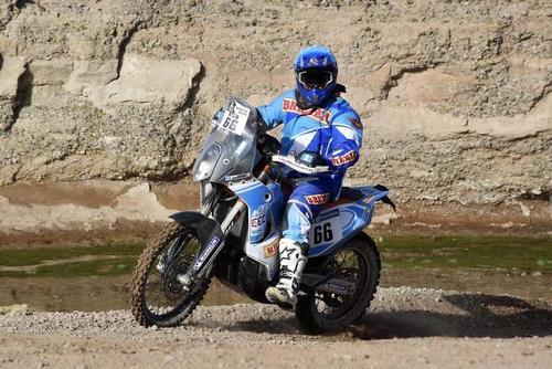 Arredondo ha participado en 12 Rally Dakar.