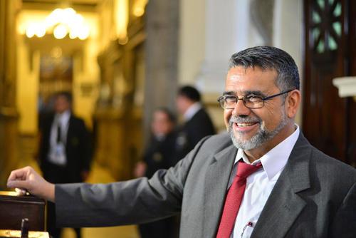 El diputado Manuel Barquín enfrenta un proceso de antejuicio por supuestamente haber recibido financiamiento del lavado de dinero. (Foto: Archivo/Soy502)